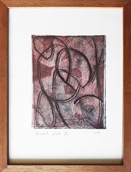 Gravure originale signée de  : Composition sans titre IV