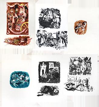 Lithographies originales de  : Lettres d'Espagne