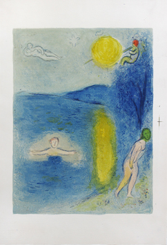 Original lithograph de  : The summer season
