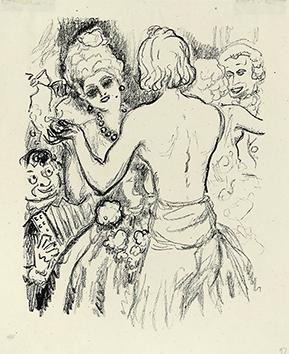 Lithographie originale de  : La princesse de Babylone, planche 39