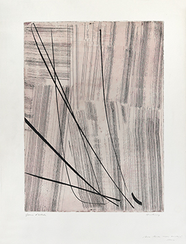 Signed etching aquatint de  : G 20, 1953