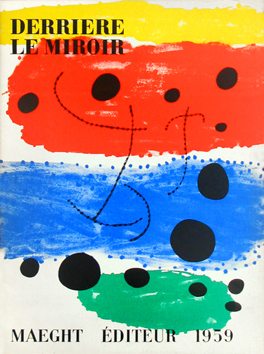 Issue DLM lithographs de Miro Joan : DLM n°117