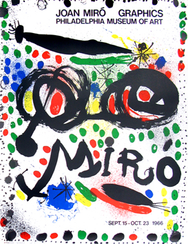 Manifesto originale de Miro Joan : Graphics