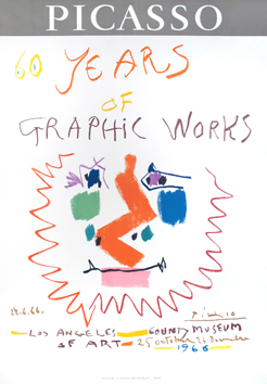 Affiche originale Mourlot de  : 60 years of Graphik Work