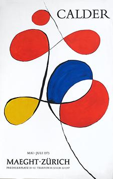 Lithographieplakat de  : Galerie Maeght - Zurich