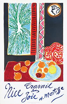 Affiche Mourlot de  : Nice, travail et joie III