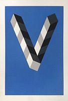 Serigraphieplakat de  : Fondation Vasarely III