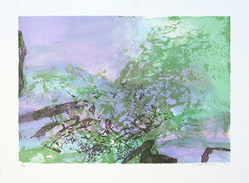Original signed lithograph de  : Without title 394