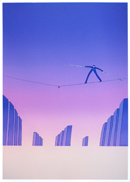 Screenprint poster de  : Editions Marquet