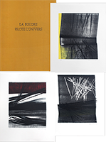 Portfolio with lithographs de  : La foudre pilote l'univers