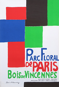 Cartel original de  : Parc Floral de Paris