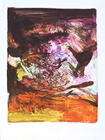 Original signed lithograph de  : Without title 237