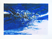Original signed lithograph de  : Without title 395