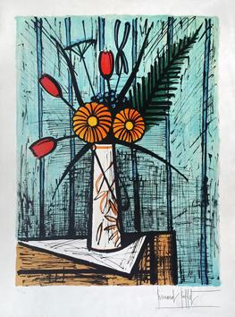 Voir et decouvrir Bernard Buffet, original lithographs and etchings ...