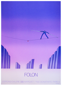 Screenprint poster de  : Gallery Marquet 73