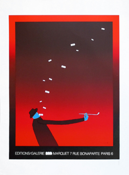 Screenprint poster de  : Gallery Marquet 71