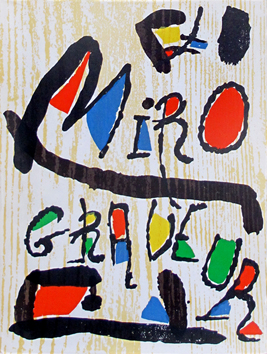 Catalogue raisonne de  : Miro graveur I