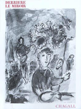 Issue DLM lithograph de Chagall Marc : DLM n°225