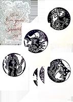 Bois gravés originaux signés de  : Six bois gravés de Scanreigh