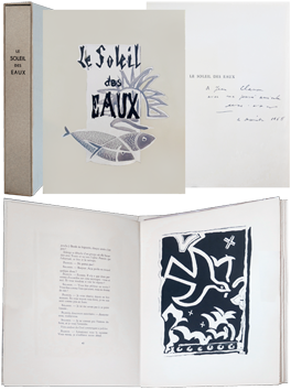 Book with etchings de  : Le Soleil des Eaux