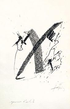 Gravure originale signée de  : La réalité en sa totalité