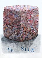 Signierte Lithographie de  : Carnaval de Nice