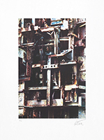 Signed print de  : Homage to the Eiffel Tower