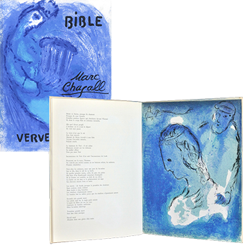 Book with lithographs de  : La Bible