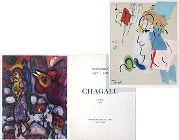 Exhibition catalogue de  : Chagall : Gouaches 1957 - 1968