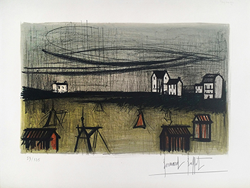Admirable Bernard Buffet Original Lithographs And Etchings Prints Download Free Architecture Designs Boapuretrmadebymaigaardcom
