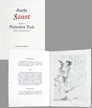 Incisioni originali de Dali Salvador : Faust