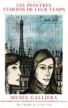 Affiche Mourlot de  : Les parisiennes II