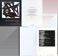 Libro con stampa de  : L'art de Pierre Soulages - Approches