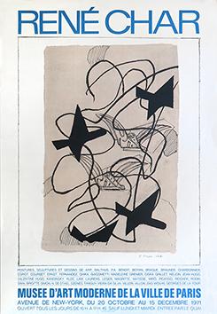 Manifesto litografia de  : René Char