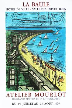 Affiche lithographie originale de  : La Baule