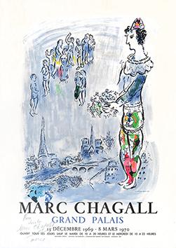 Affiche signée de  : Le Magicien de Paris
