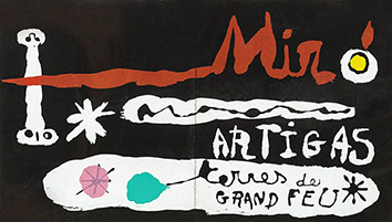 Documento original de Miro Joan : Terres de Grand Feu