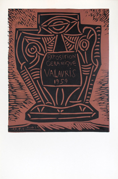 Poster de  : Ceramic exhibition Vallauris 1959