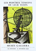 Mourlot poster de  : Les peintres témoins de leur temps IV