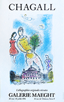 Poster de Chagall Marc : Recent original Lithographs