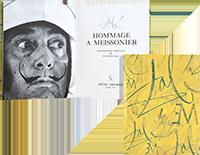 Lithographies originales de  : Hommage à Meissonier