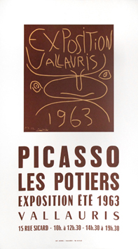 Poster de  : Exhibition Vallauris, 1963