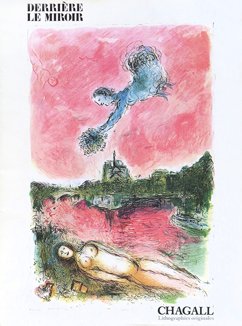 Issue DLM lithograph de Chagall Marc : DLM n° 246