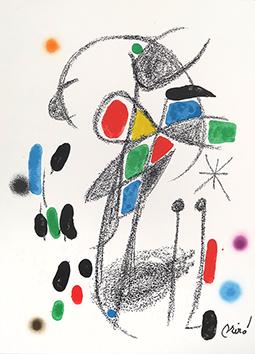 Lithographie originale de  : Maravillas con variaciones ..., planche XVIII