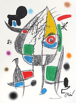 Lithographie originale de  : Maravillas con variaciones ..., planche XX