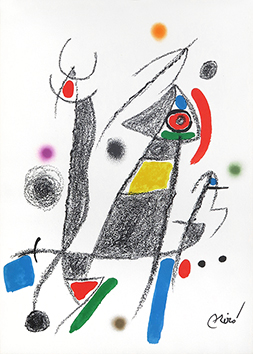 Lithographie originale de  : Maravillas con variaciones ..., planche VI