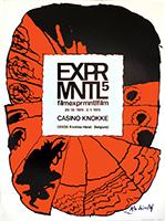 Affiche lithographie originale de  : Exprmntl 5