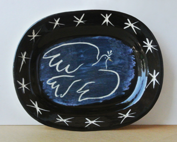 Ceramic de Picasso Pablo : Bright dove