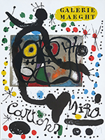 Cartel original firmado de  : Exposition Cartons II