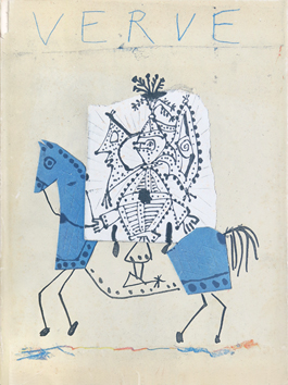 Illustrated art issue de Picasso Pablo : Issue Verve Vol. VII n° 25 and 26